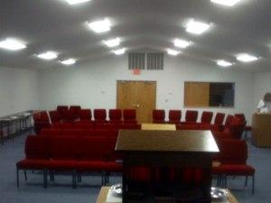Inside Hope PCC Auditorium